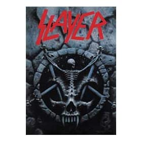 Slayer - #61 Divine Intervention - Fabric Poster 30'' x 40''