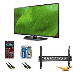 LG 39LN5700 39 Inch 1080p 60Hz Dual Core Direct LED Smart TV Mount Bundle