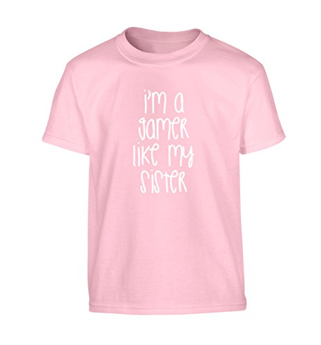 I'm a gamer like my sister Children's T-Shirt Ages 3-4 - 12-13