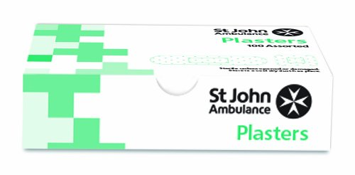 st-john-ambulance-washproof-plasters-assorted-pack-of-100-plasters