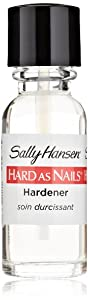 Sally Hansen Hard As Nails Regular Nail Enamel - Clear - 0.45 oz