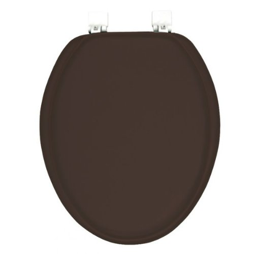 Tremendous Elongated Premium Ginsey Chocolate Brown Padded Soft Toilet Gmtry Best Dining Table And Chair Ideas Images Gmtryco