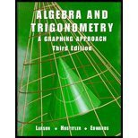 Algebra And Trigonometry: A Graphing Approach Third Edition