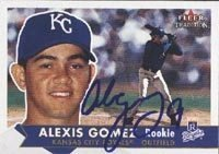 Alexis Gomez Wilmington Blue Rocks - Royals Affiliate 2001 Fleer Tradition Rookie... by Hall of Fame Memorabilia