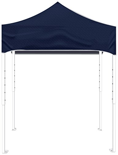 Kd Kanopy Ps64Nb Party Shade Steel Frame Indoor/Outdoor Portable Canopy, 8 By 8-Feet, Navy Blue