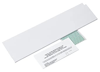 Kimberly-Clark Professional 10221 Stainless Steel Left Side Filler Panel for Right Mounted Recessed
