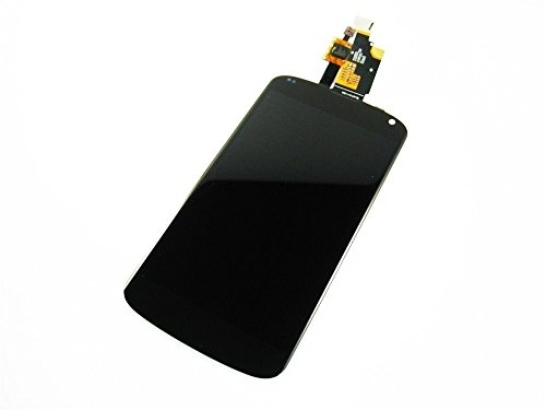 "Topscreen2012(Tm) 4.7"" Inch Full Screen Lcd Screen Display Panel Module & Touch Screen Digitizer Glass Lens Repair Parts Replacement Fix For Lg Google Nexus 4 E960 Mobile Phone"