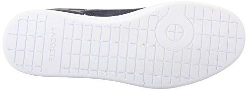 Lacoste Women's Carnaby Evo G316 6 Fashion Sneaker, Navy/Navy, 8 M US