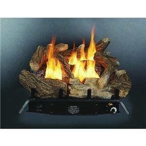 Kozy World GLD1850 Fireplace Log Set, Vent-Free,  Dual Fuel, 18 Inch photo B0013K2414.jpg