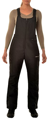 Arctix Women's Classic Insulated Snow Overalls Bib, Black, X-Large (Ladies Snow Pants compare prices)