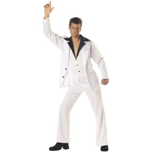 Saturday Night Fever Costume - X-Large - Chest Size 44-46