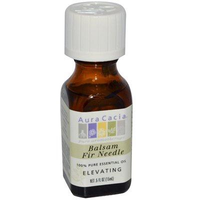 Aura Cacia - Aura Cacia 100% Pure Essential Oil - Balsam Fir Needle - Elevating - .5 Fl Oz - Pack Of 1
