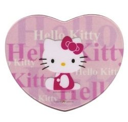 Hello Kitty Mouse Pad (Pink Heart)