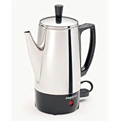 Presto 02822 Brewer Beautiful Traditional Design Provides For Elegant Coffee Service Anytime