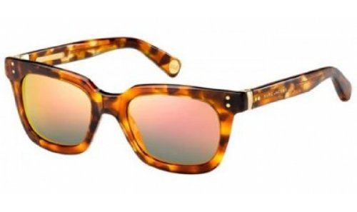 Marc Jacobs Marc Jacobs MJ437/S Sunglasses-06J5 Havana/Gold (UW Gray Gradient Lens)-50mm