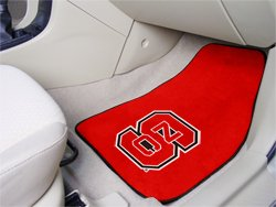Fanmats North Carolina State Wolfpack Carpeted Car Mats front-465618