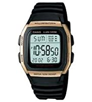 Casio Youth Yellow Dial Men's Watch - W-96H-9AVDF (D034)