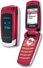 Samsung T219 (Red) Unlocked GSM Cell Phone