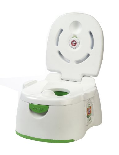 Arm & Hammer 3-In-1 Potty Seat, White