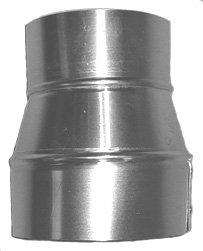Midwest Ducts 405A Aluminum Pipe Reducer - 7