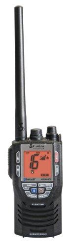 Cobra MR HH475 FLT VHF Waterproof Two-Way Marine Radio with Bluetooth