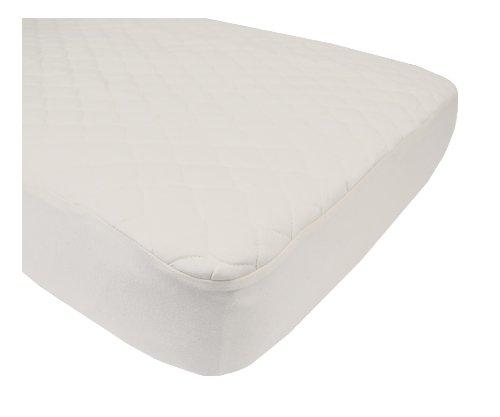 Imagen de Compañía American Baby Organic impermeable acolchado cuna cubierta de la almohadilla del colchón