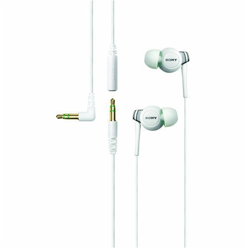 SONY 密閉型インナーヘッドフォン EX300SL ホワイト MDR-EX300SL/W
