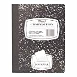 Mead Composition Book, Special Ruled, 9-3/4 x 7-1/2 Inches, Black Marble (9920)
