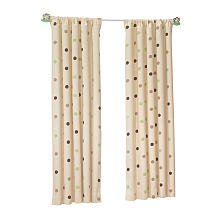 Sweet Dreams Twill Window Panel - Multi Dot (63 inches)