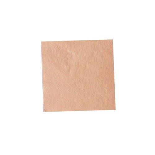 パステル銀箔 #642 パステルオレンジ 3.5㎜角×5枚