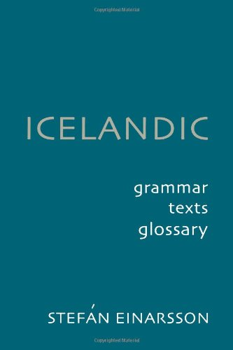Icelandic: Grammar, Text and Glossary, 2nd Edition