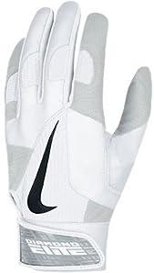 Nike GB0335 Diamond Elite Pro II Batting Gloves - Black Black by Nike