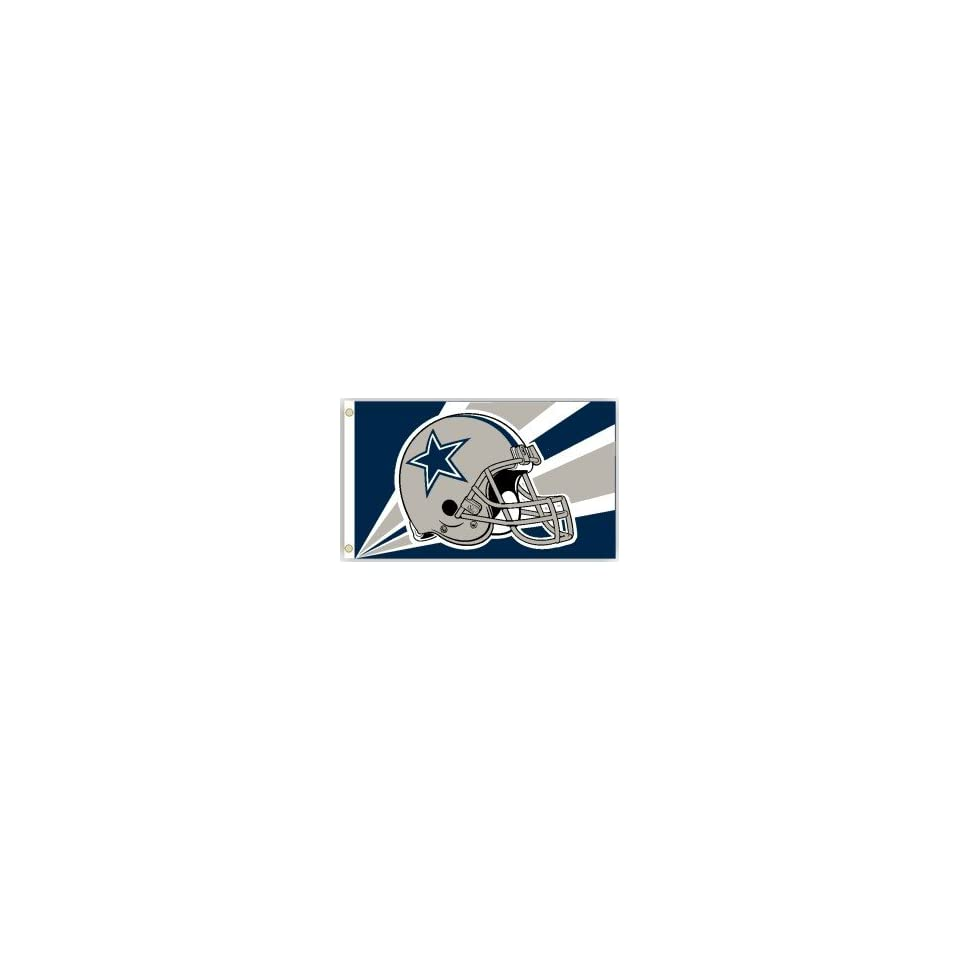 Dallas Cowboys NFL Football Helmet Design Flag (3 x 5)
