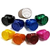 Green Lantern Blackest Night Set of 9 Plastic Power Rings