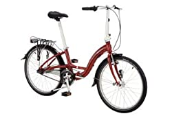 Dahon Briza D7 Folding Bike, Brick from Dahon