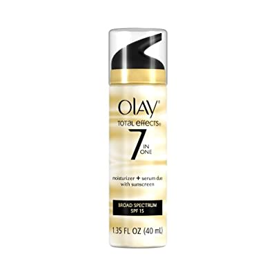 Best Cheap Deal for Olay Total Effects 7 In One Moisturizer + Serum Duo With Sunscreen Broad Spectrum SPF 15 1.35 Fl Oz by P & G - Free 2 Day Shipping Available