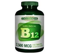 2500 Mcg Vitamin B12