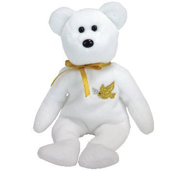 "TY Beanie Baby - HOLY FATHER the Bear ""Gold Hang Tag"" - 1"