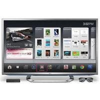 LG 55G2 55-Inch Cinema 3D 1080p 120Hz LED-LCD HDTV with Google TV and Six Pairs of 3D Glasses