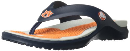 crocs Men's 15195 Modi Auburn Flip Mule,Navy,11 M US at Amazon.com