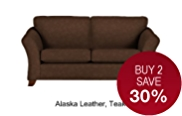 Abbey Medium Sofa - Leather