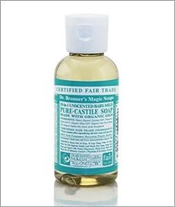 org unscented baby mild castile soap 59 ml brand dr bronners magic soap health. Black Bedroom Furniture Sets. Home Design Ideas