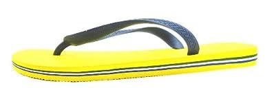 Size 8 Havaianas Men's H Brasil Logo Synthetic Flip Flops