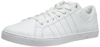 K-Swiss Adcourt '72 So M, Men's Low-Top Sneakers, White (White/Silver), 6 UK (39 1/2 EU)