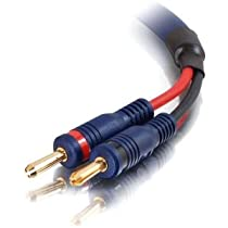 C2G / Cables to Go 29176 10 feet/3.04 Meters Velocity 12 AWG Speaker Cable  Blue