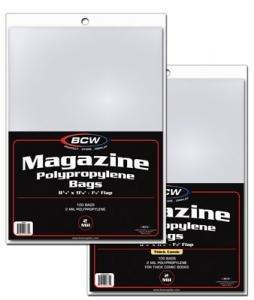 (100) BCW Magazine Bags