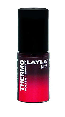 Layla Cosmetics, Smalto Thermo, N. 7