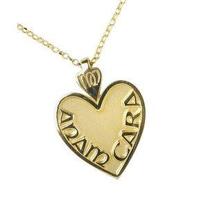Amazon.com: Silver-Medium Mo Anam Cara-My Soul Mate Heart Shaped