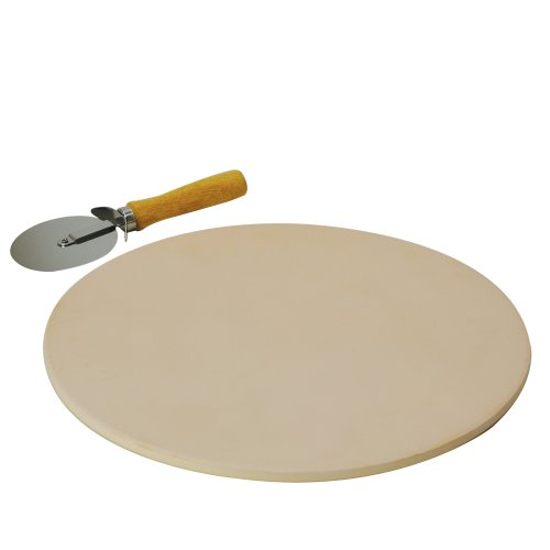 Stone Pizza Pan : Laroma pizza stone pan baking cookware convection oven