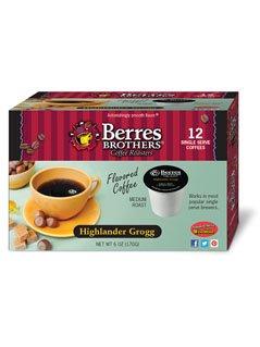 Berres Brothers Highlander Grogg Coffee Single Serve Kups